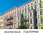 renovated old houses seen at... | Shutterstock . vector #726559984