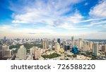 bangkok city   aerial view ... | Shutterstock . vector #726588220