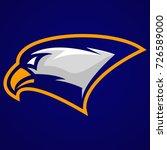 eagle head mascot logo   Shutterstock .eps vector #726589000