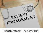 "3d illustration of ""patient... | Shutterstock . vector #726590104"