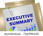 "3d illustration of ""executive... 