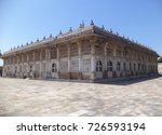 sarkhej roza is a mosque and... | Shutterstock . vector #726593194