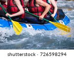 rafting extreme sports on...   Shutterstock . vector #726598294