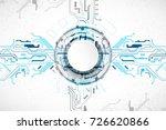 vector illustration  hi tech...   Shutterstock .eps vector #726620866