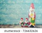 Chocolate Santa Claus With...