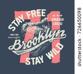 vintage urban typography with... | Shutterstock .eps vector #726650098