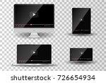 realistic modern digital... | Shutterstock .eps vector #726654934