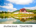 the royal flora ho kum loung in ... | Shutterstock . vector #726658258