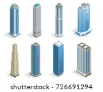 buildings and modern city... | Shutterstock .eps vector #726691294