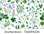 herbs  conifers  flowers and...