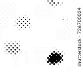 black and white round spots... | Shutterstock . vector #726700024