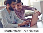 startup business people group...   Shutterstock . vector #726700558