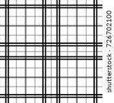 black and white tartan seamless ...   Shutterstock .eps vector #726702100