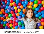 girl playing and having a good... | Shutterstock . vector #726722194