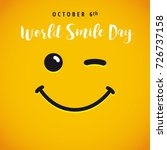 World Smile Day October 6th...