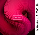 abstract vector background with ... | Shutterstock .eps vector #726745198