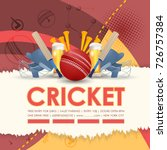 cricket background | Shutterstock .eps vector #726757384