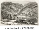 Old View Of American Canyon...