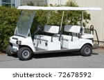 Golf Car With Back Seat