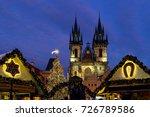 prague  czech republic  ...   Shutterstock . vector #726789586