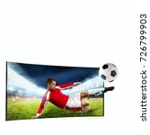 realism of sporting images... | Shutterstock . vector #726799903