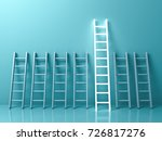 stand out from the crowd and... | Shutterstock . vector #726817276