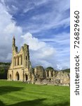 Byland Abbey In The Ryedale...