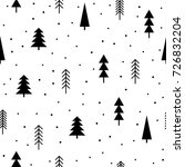 abstract forest seamless... | Shutterstock .eps vector #726832204