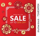Chinese New Year Sale Banner...