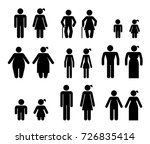 pictograms which represent... | Shutterstock .eps vector #726835414