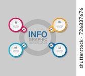 vector infographic template for ...   Shutterstock .eps vector #726837676