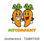 cartoon carrots buddy | Shutterstock .eps vector #726847420