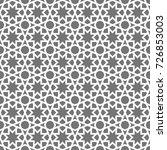 islamic seamless vector pattern.... | Shutterstock .eps vector #726853003