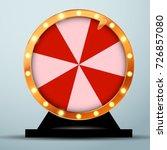 lottery online casino fortune... | Shutterstock .eps vector #726857080