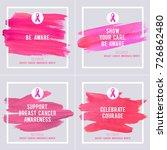 breast cancer awareness... | Shutterstock .eps vector #726862480