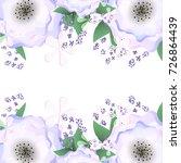 flower vector | Shutterstock .eps vector #726864439