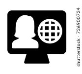 profile icon | Shutterstock .eps vector #726900724
