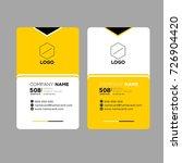 name card   Shutterstock .eps vector #726904420