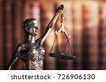statue of justice on library