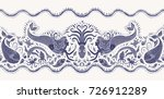 vector seamless pattern.... | Shutterstock .eps vector #726912289