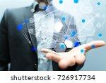 net structur | Shutterstock . vector #726917734