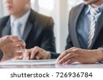 close up hands of businessman