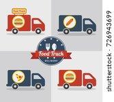 food truck   street fast food....   Shutterstock .eps vector #726943699
