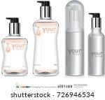spray bottle skincare.... | Shutterstock .eps vector #726946534