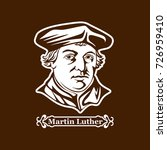 martin luther. protestantism.... | Shutterstock .eps vector #726959410