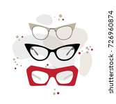 set vintage fashion accessories ...   Shutterstock .eps vector #726960874