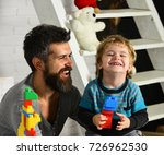 family and childhood concept.... | Shutterstock . vector #726962530
