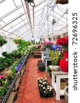 inside a glasshouse | Shutterstock . vector #72696325