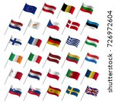 european union country flags ...