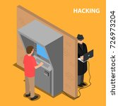 the thief hacks the software...